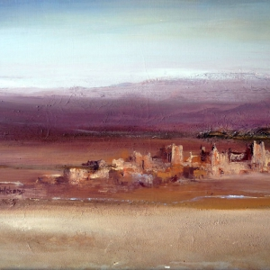 Ksar in the south of morocco