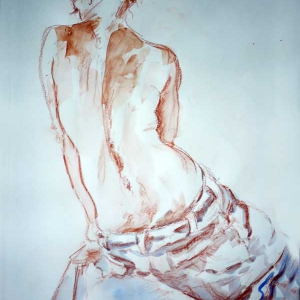 Mietje - Life Drawing