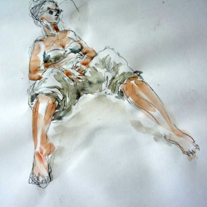 Mietje II - Life Drawing